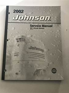 Service Manual For A 2002 Johnson Outboard Motor 9 9  15 Hp