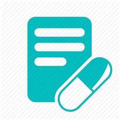 Icon Prescription Drug Icons Medicine Prescribe Medical
