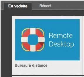 bureau distant prenez le contrôle d un ordinateur distant depuis un