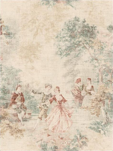 ideas  toile wallpaper  pinterest toile