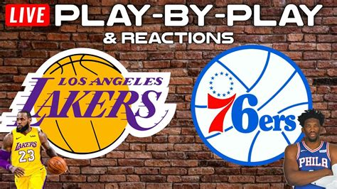 Lakers 76Ers / Joel Embiid Leads Sixers Past Lebron Led ...
