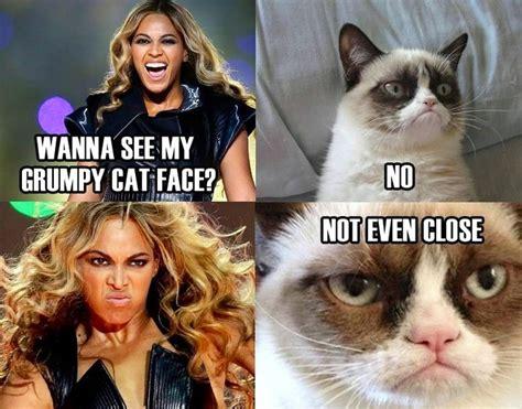 Beyonce vs Grumpy cat | Grumpy cat | Pinterest | Cats ...