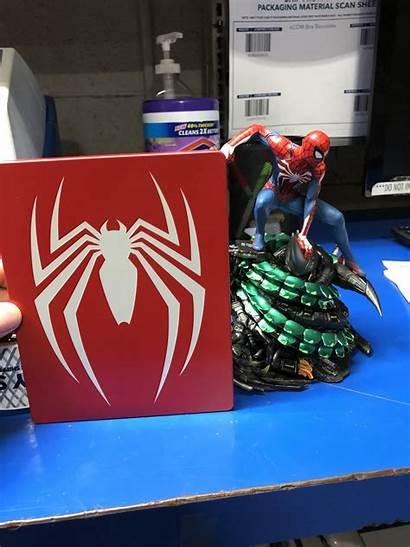 Spider Edition Ps4 Statue Collectors Collector Playstation