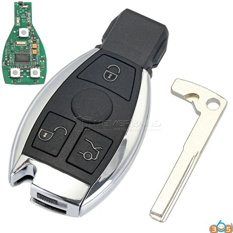 How To Tell Mercedes Benz Be Key And Bga Key?