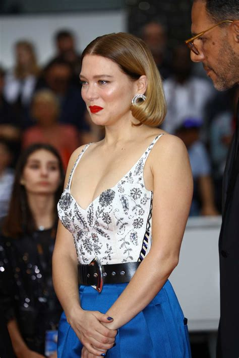 lea seydoux attends  mercy screening    annual cannes film festival  cannes
