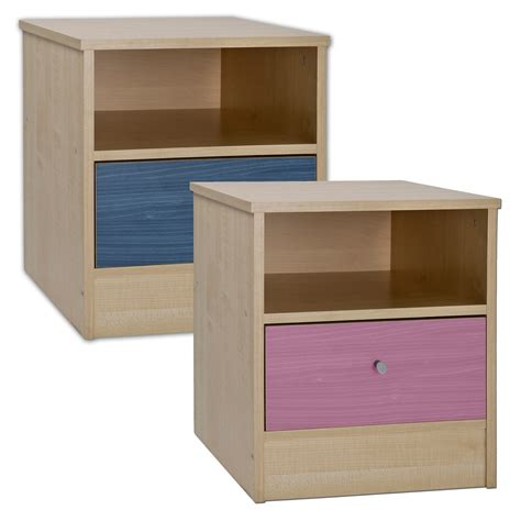 childrens bedside table ls childrens bedside cabinet table unit furniture drawer