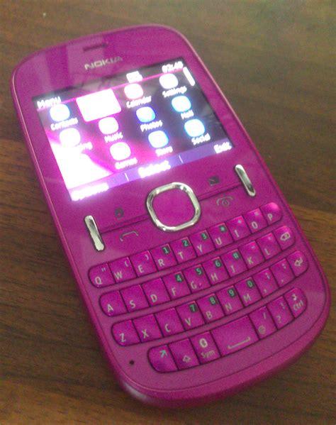 nokia asha  pink colour dual sim clickbd