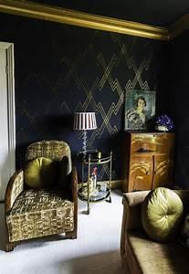 Papier Peint Art Deco : faites la f te comme gatsby le magnifique l 39 art d co ~ Dailycaller-alerts.com Idées de Décoration