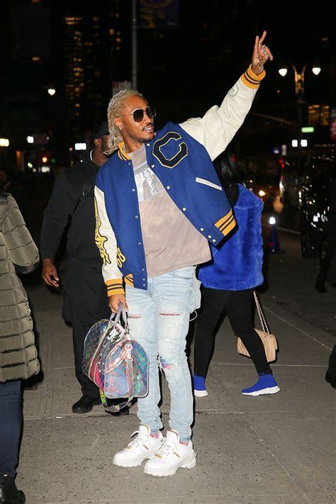 fashion hailey baldwin future killer mike wearing gucci louis vuitton
