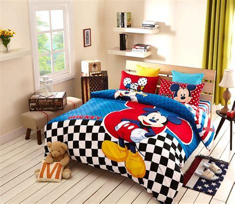 disney mickey mouse bedding set  teen boys kids bedroom