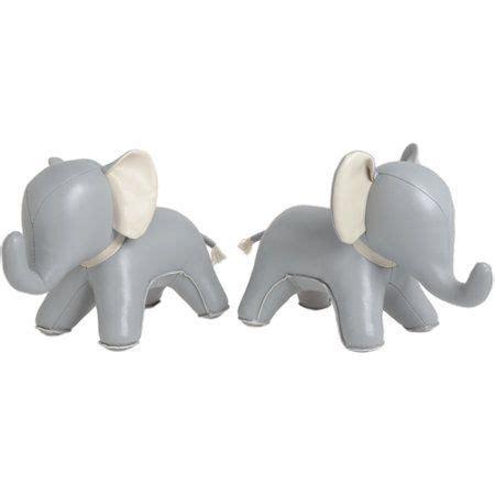 zuny abby  elephant bookends  barneyscom