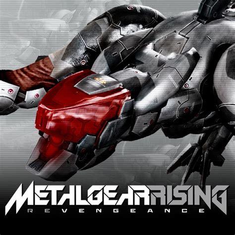 metal gear rising cover metal gear rising revengeance blade wolf 2013