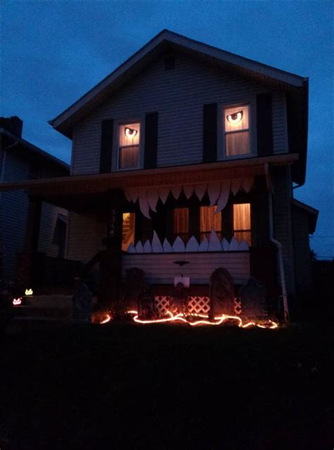 decorations for the house has nothing on these houses check out what s freaking out the neighbors