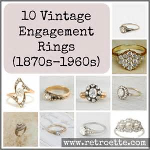 antique engagement rings for sale 10 unique vintage engagement rings from the age to the 60s