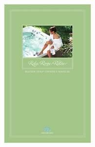 Master Spa Legend Owner U0026 39 S Manual