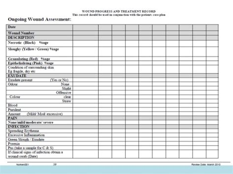 Wound Care Plan Template by 25 Images Of Wound Treatment Template Stupidgit