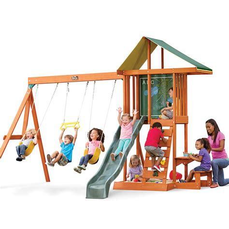 Big Backyard Springfield by Kidkraft Springfield Ii Cedar Playset F24017 The Home Depot