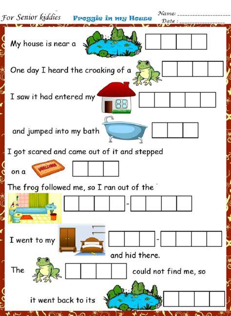 fun english worksheet educative printable