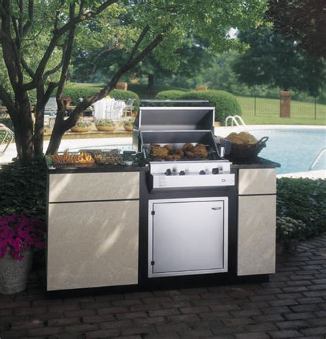 zxnyss ge monogram dual burner outdoor cooktop natural gas monogram appliances