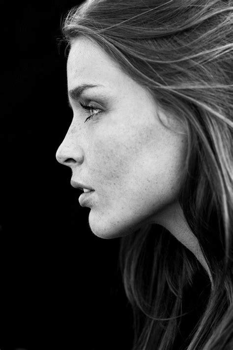 silky skin   faces portraits black  white