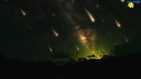 meteor shower definition meteor shower wallpaper 1600 215 900 creative design fullscreen