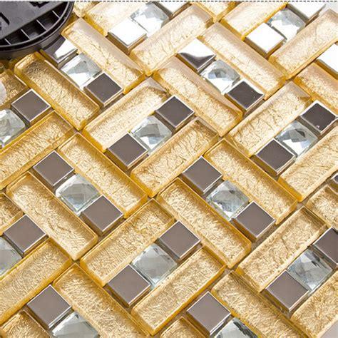 stainless steel kitchen backsplash tiles stainless steel glass blend metal tile sheets
