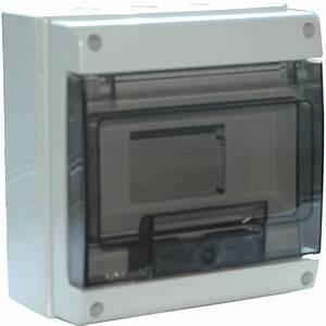 Coffret Electrique Leroy Merlin : tableau lectrique tanche nu debflex 1 rang e 8 modules ~ Dailycaller-alerts.com Idées de Décoration