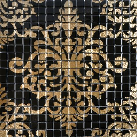 how to install tile backsplash in kitchen gold and black tile mural puzzle mosaic glass wall murals