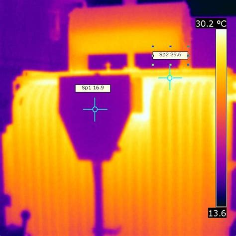 infra red thermal imaging high voltage solution
