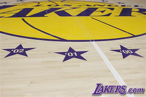 lakers court  official site   los