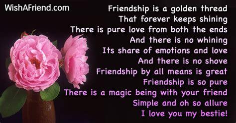 golden thread friends  poem