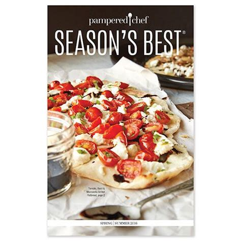 summer pampered chef spring season recipes dough minute site recipe pamperedchef healthy under eating canada grill cart hosts