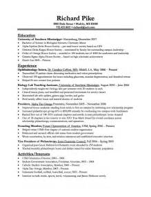 usa federal resume exles of resumes professional federal resume format