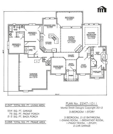 3 bedroom house blueprints three bedroom house plans modern house