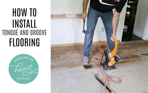 [how to lay tongue and groove hardwood flooring]   28