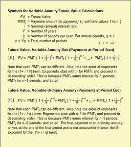 Formula For Annuity Annuity Fixed Variable Defined Explained Calculated Examples