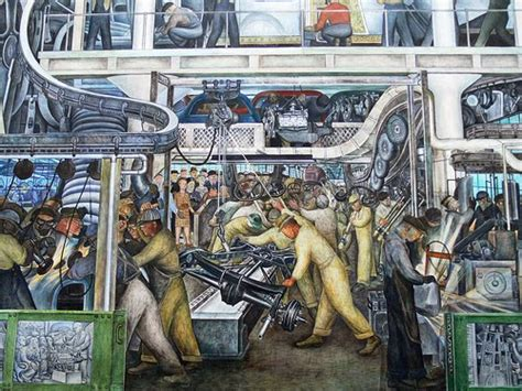 the automobile and american diego rivera murals the detroit institute and a friday