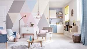 idees deco peinture salon home design nouveau et With idee peinture salon design