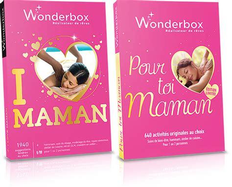 wonderbox cuisine wonderbox les nouveaux coffrets pour la fête des mères