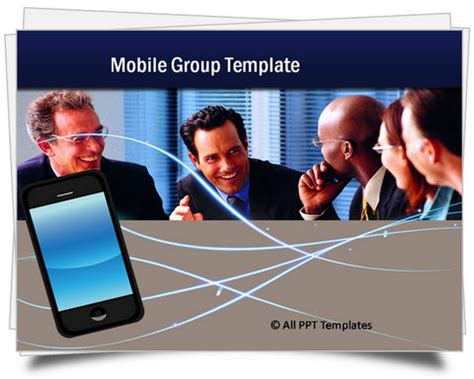 T Mobile Powerpoint Template by Powerpoint Mobile Template