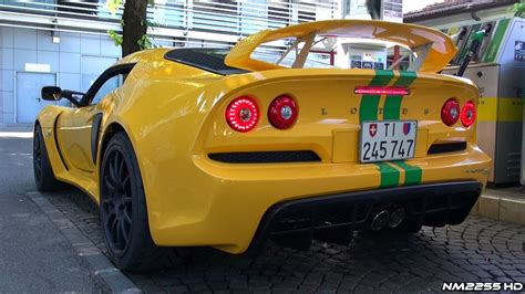 lotus exige    loud larini full exhaust system