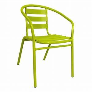 Fauteuil Jardin Pas Cher : chaise de jardin a gifi ~ Teatrodelosmanantiales.com Idées de Décoration