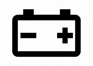 Car Battery Icon Free Vector