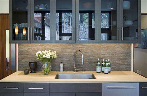 Kitchen Tile Backsplash Designs - modernist kitchen renovation modern kitchen philadelphia by gardner fox associates inc