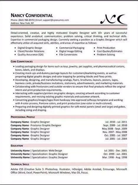 resume template forbes functional resume template