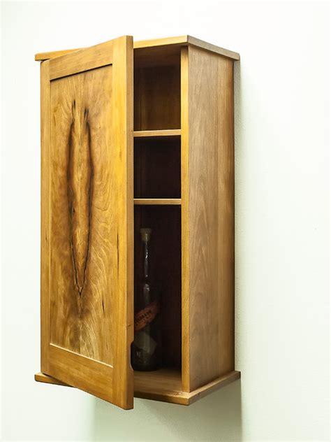Unfinished Bathroom Cabinets Denver by Solid Cherry Krenovian Style Whiskey Cabinet Eclectic