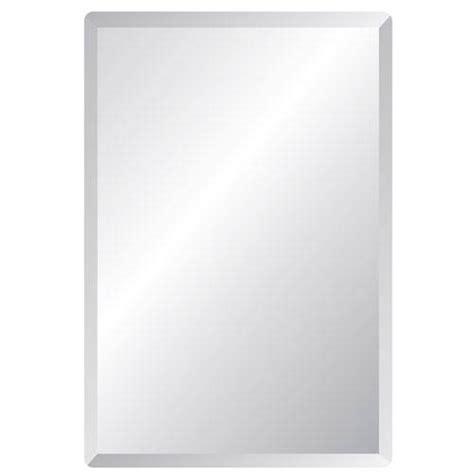 20 X 30 Bathroom Mirror by Regency 20 X 30 Rectangular Beveled Edge Mirror Spancraft