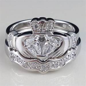 301 moved permanently With claddagh diamond wedding ring