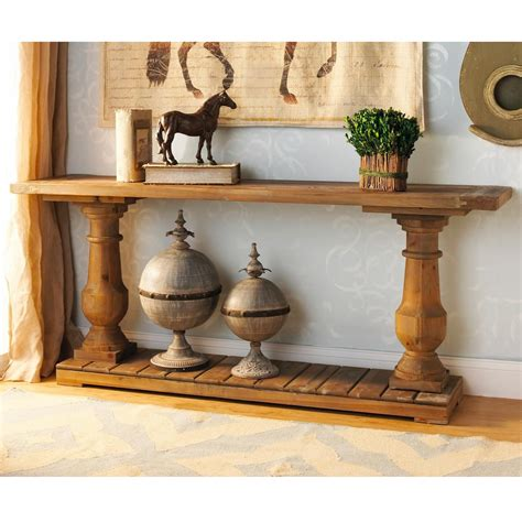 Classic Turned Wood Furniture by Wood Turned Baluster Console Table And Check Out Those
