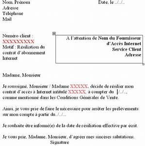 Modèle Résiliation Assurance : trouver modele lettre de resiliation free ~ Gottalentnigeria.com Avis de Voitures